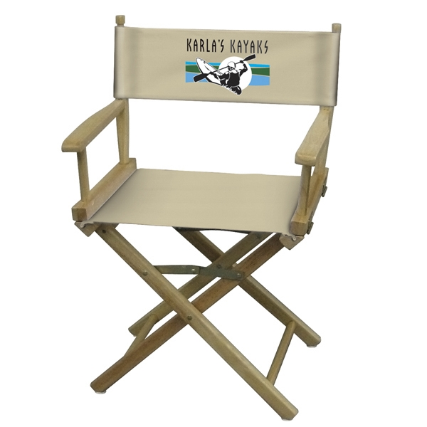 Full Color Table Height Original Directors Chair Photo