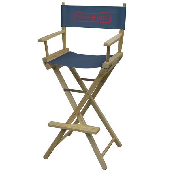Bar Height Original Directors Chair With 1-color Imprint Photo