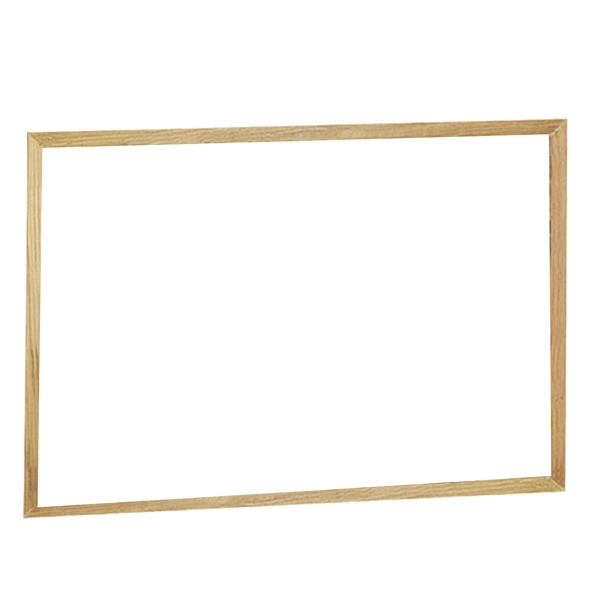 Brilliant Boards - Oak Wood Frame Dry Erase Board And Hanging Hardware Photo