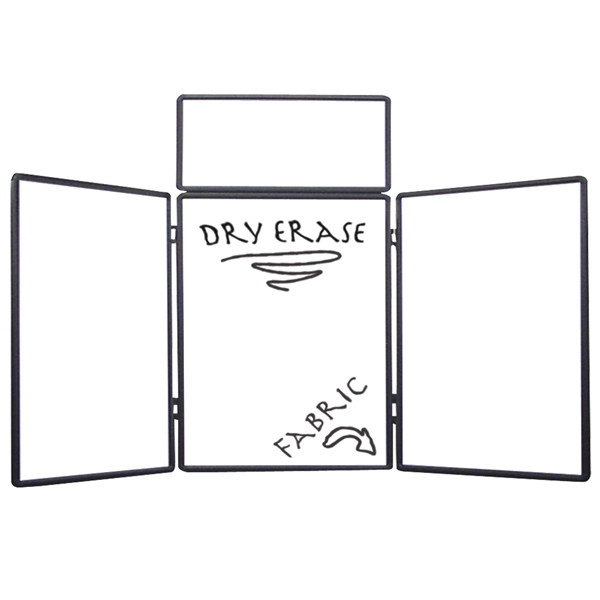 Show 'n Write - Dual Table Top 4' Display Kit. Dry Erase Board On One Side Photo
