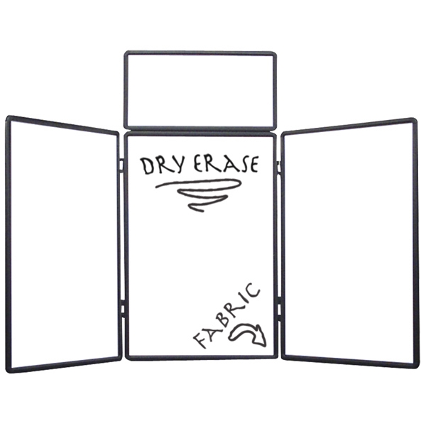 Show 'n Write - Dual Table Top 6' Display Kit. Dry Erase Board On One Side Photo