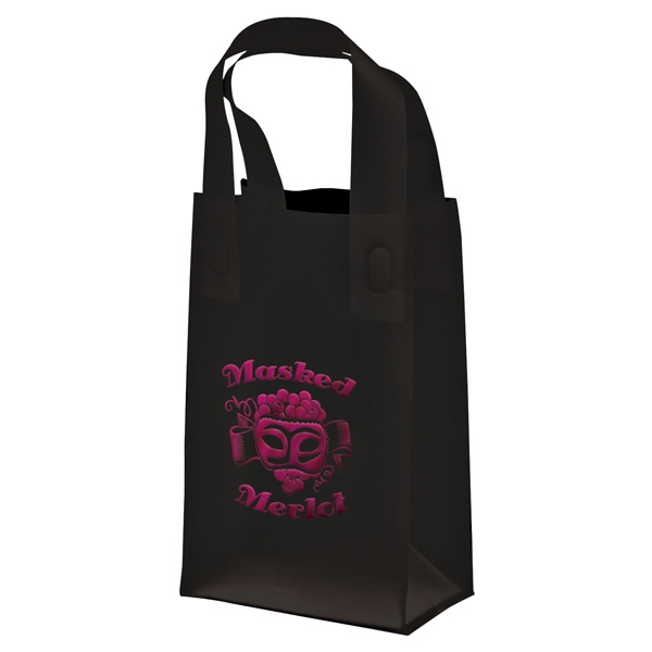 Recyclable Soft Loop Frosted Shopper Bag, 3.0 Mil Photo