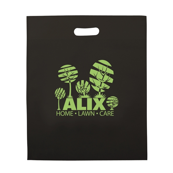 Non-woven Polypropylene Die-cut Bag With 1-color Screen Print Photo