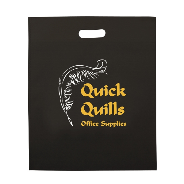 Non-woven Polypropylene Die-cut Bag With 2-color Screen Print Photo