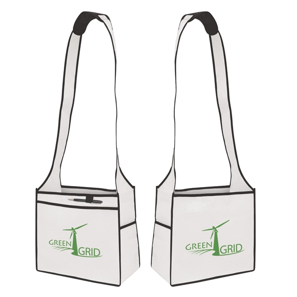 Esprit - Tote With 1-color, 2-sided Screen Print. Has A Handy Pocket Photo