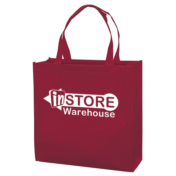 Responsible Market Tote With 1-color, 1-sided Screen Print Photo