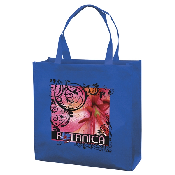 Responsible Market Tote With Full-color Transfer, 1-sided Photo