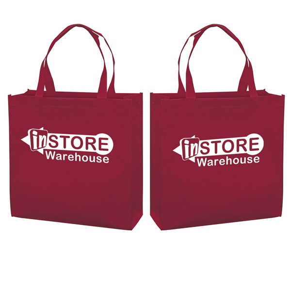 Responsible Market Tote With 1-color, 2-sided Screen Print Photo