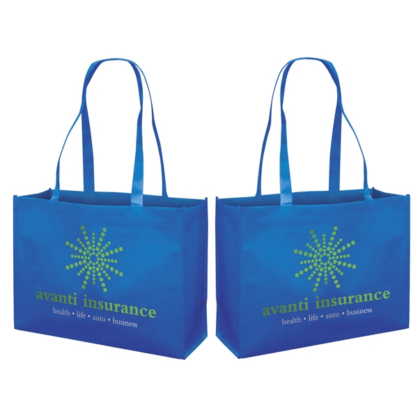 Responsible Market Tote With 2-color, 2-sided Screen Print Photo