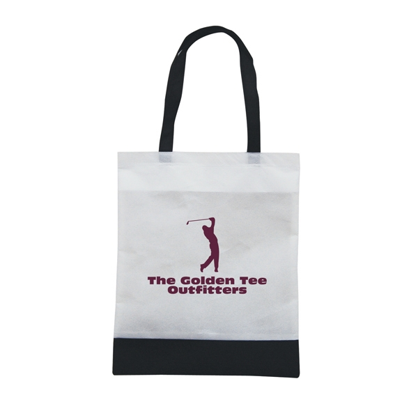 Tote 'n Ship - Water-resistant Tradeshow Tote Bag With 1-color, 1-sided Screen Print Photo