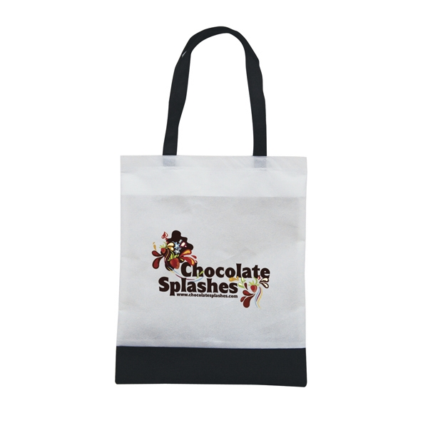 Tote 'n Ship - Water-resistant Tradeshow Tote Bag With Full-color Transfer, 1-sided Photo