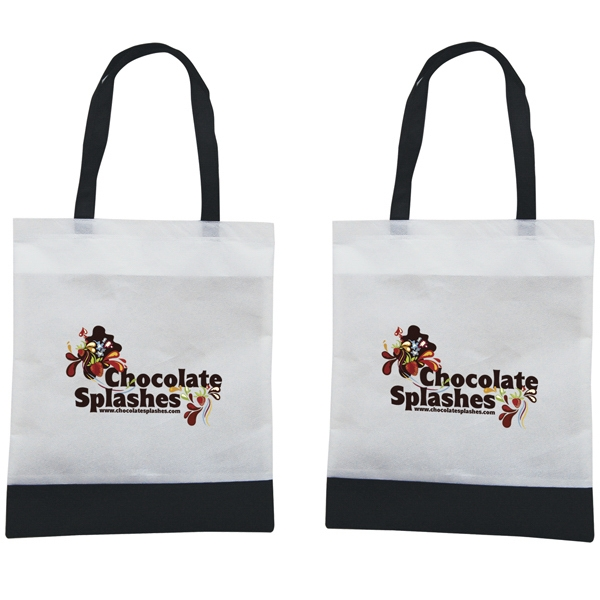 Tote 'n Ship - Water-resistant Tradeshow Tote Bag With Full-color Transfer, 2-sided Photo