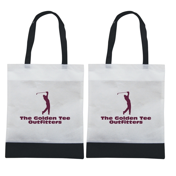 Tote 'n Ship - Water-resistant Tradeshow Tote Bag With 1-color, 2-sided Screen Print Photo