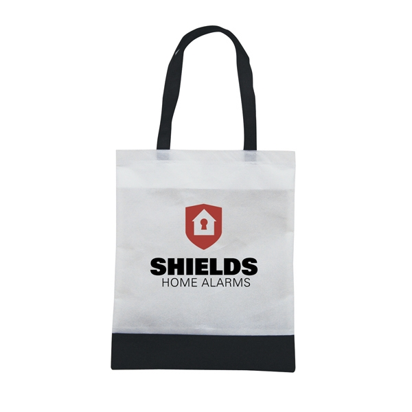 Tote 'n Ship - Water-resistant Tradeshow Tote Bag With 2-color, 1-sided Screen Print Photo