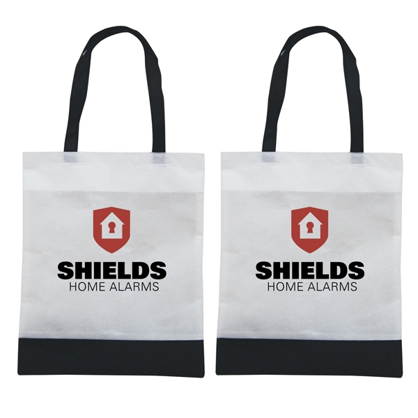Tote 'n Ship - Water-resistant Tradeshow Tote Bag With 2-color, 2-sided Screen Print Photo