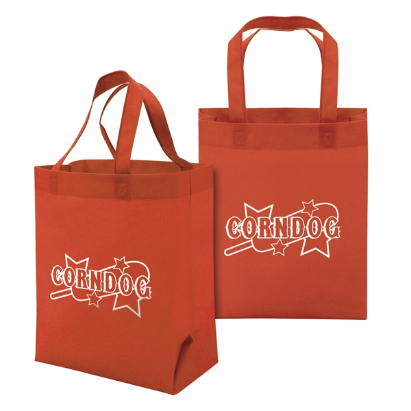 Value Tote 1-color Screen Print, 2-sided Photo