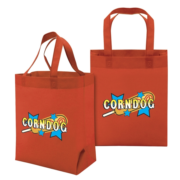 Value Tote With Full-color Transfer, 2-sided Photo
