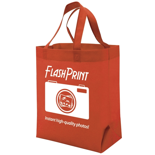 Quick Ship Value Tote 1-color Screen Print, 1-sided Photo
