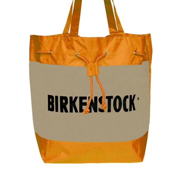 Bali - Tote Bag With Translucent Front Panel Photo