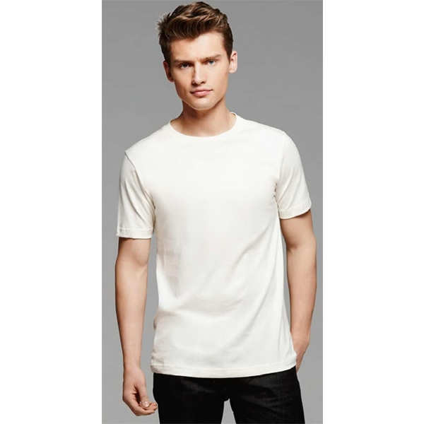Bella + Canvas (tm) Los Angeles The Organics Collection - White 2 X L - Men's 4.2 Oz. Combed And Ringspun Organic Cotton T-shirt Photo