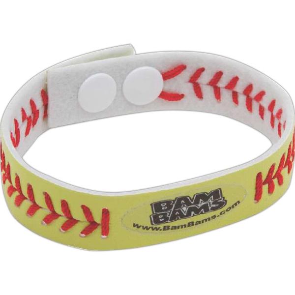 Softball Sports Bracelet (Laser Etched)