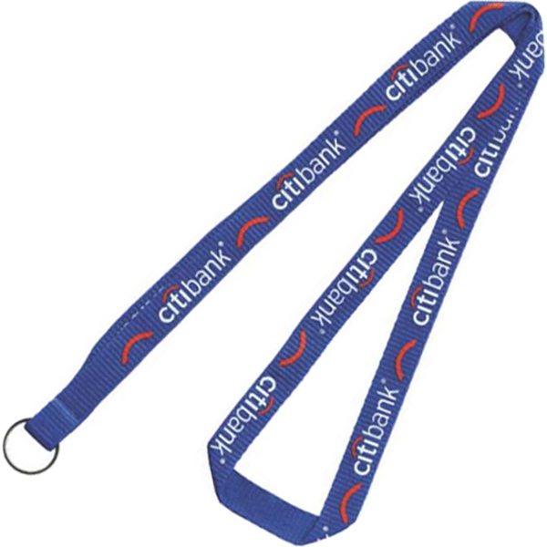"Polyester Screen Printed Lanyard 36"" x 1/2"""