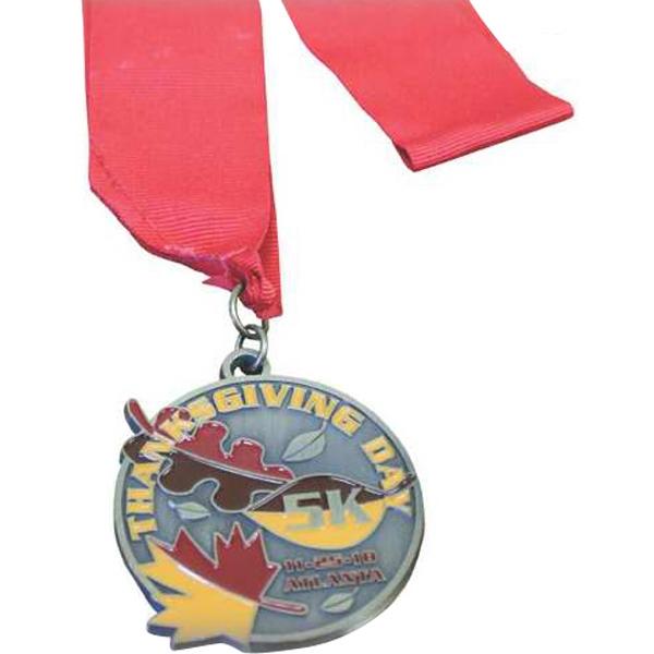"1.75"" Medallion with Ribbon/Lanyard"