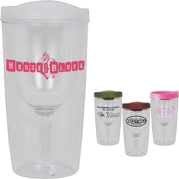 Vino-2-go - 10 Oz Wine Glass Double Wall Tumbler Photo