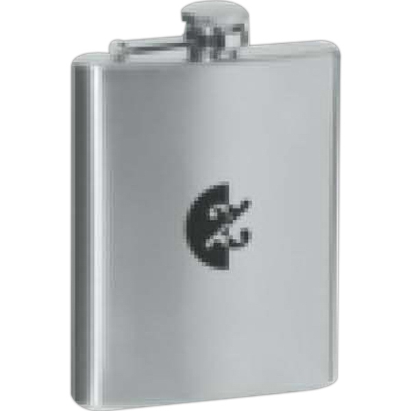 7 Oz Stainless Steel Hip Flask Photo