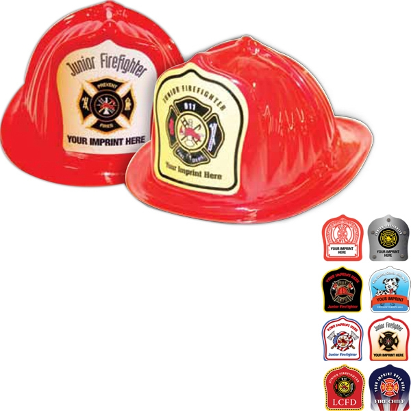 Made In Usa Original Design Fireman Hats - Imprinted Photo