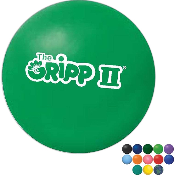 The Gripp Ii (r) - Exclusive Patented Non Toxic Stress Ball With Lightweight Filler Photo