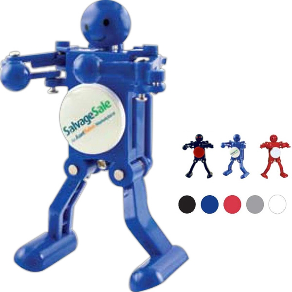 Boogie Bot (r) - Full Color Digital Imprint - Wind-up Dancing Figurine Photo