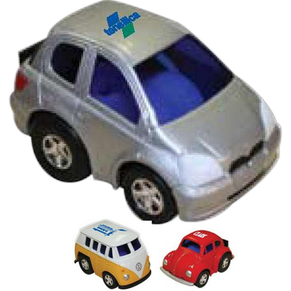 Zoomies (tm) - Printed - Miniature Cars With Pull - Back Action Photo