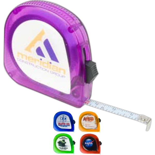 Digital Full Color Process - Mini Tape Measure, 10 Foot Photo