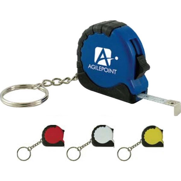 Digital Full Color Process - Tape Measure With Key Chain Photo