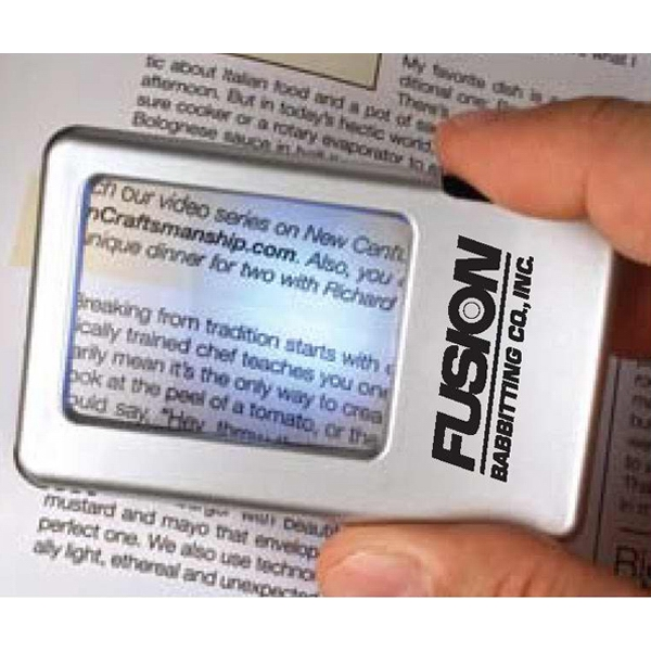 Printed - Magnifier Led With Pen Photo