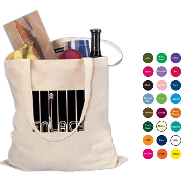 Solid Colors - 100% Cotton Tote Photo