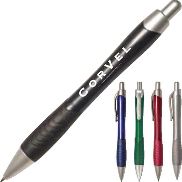 Rayo - Printed - Pen Features Smooth Flowing Lines And A Matching Rubber Grip Photo