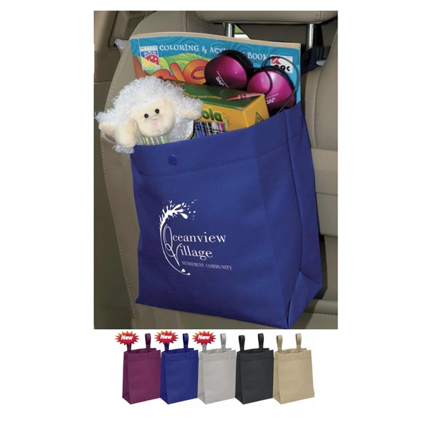 Hang Around Bag - Bag Made Of 100 Gsm Premium Non-woven Polypropylene With Straps Photo