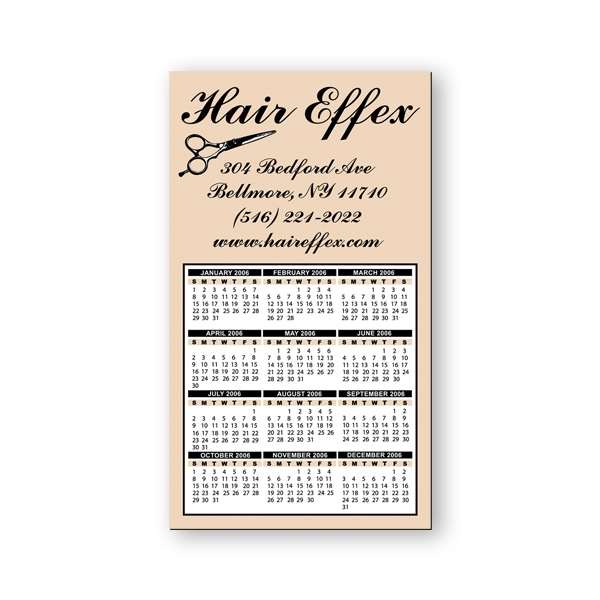 "Calendar/schedule Magnet, Flexible Vinyl Protected With A Plastic Coating 4"" X 7"" Photo"