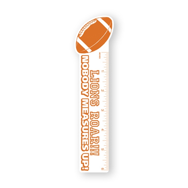 Bookmark With Football Shape Top Photo