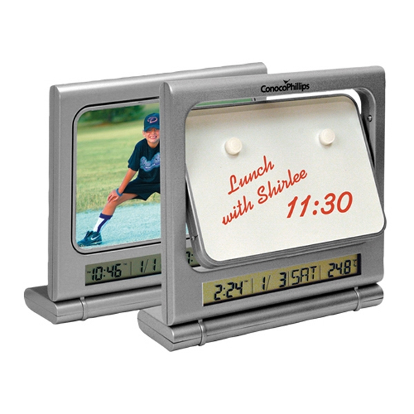Flipper Memo Picture Frame Clock Photo