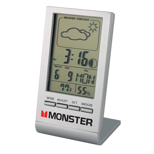 Weather Forecast Multi Functional Desk Clock Photo