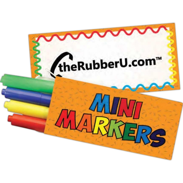 4 Pack Mini Markers Photo