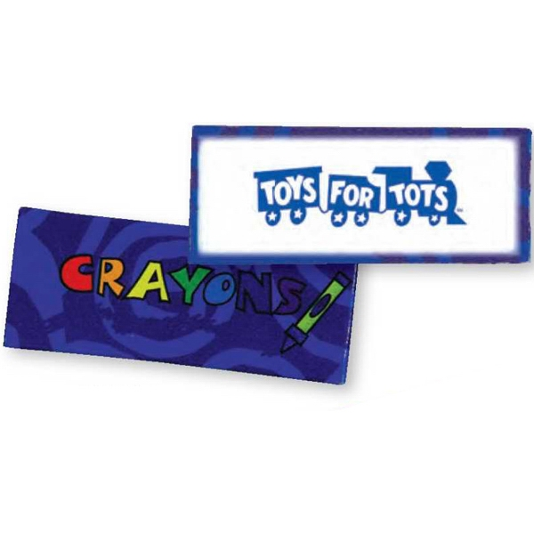 Blue - Four Pack Of Crayons Photo
