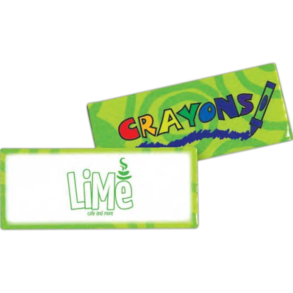 Green - Four Pack Of Crayons Photo