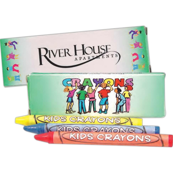 Three Pack Of Crayons Photo