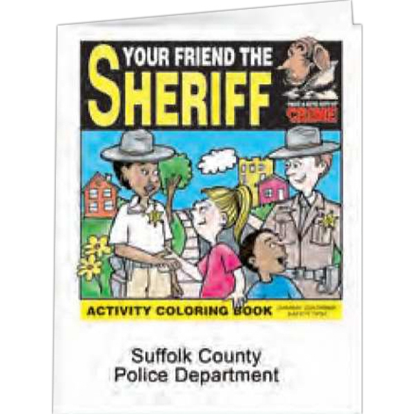Your Friend The Sheriff - Coloring Book, 8 Pages Photo