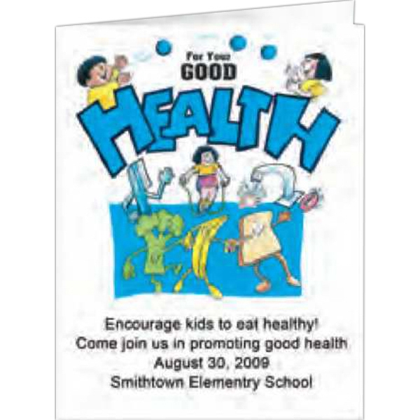 For Your Good Health - Coloring Book, 8 Pages Photo