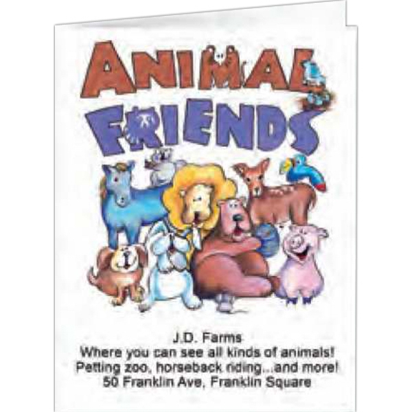 Animal Friends - Coloring Book, 8 Pages Photo